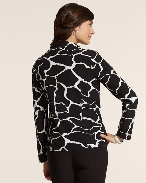 Neema Print Reversible Jacket