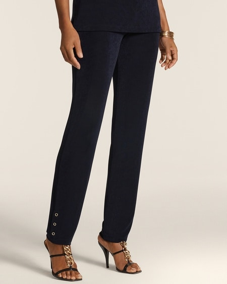 Essential Slim Grommet Pants