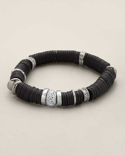 Lennox Stretch Disc Bracelet