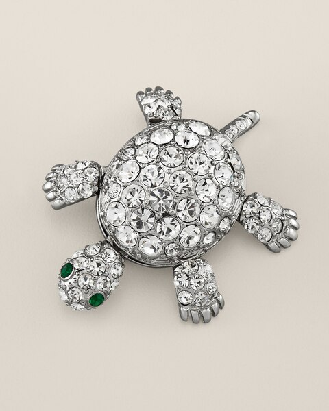 Nautia Turtle Pin