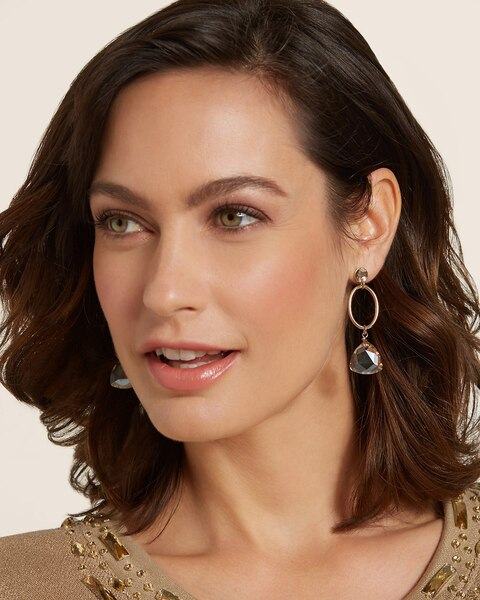 Tara Gold Drop Earrings