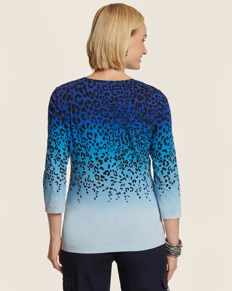 Portia Ombre Animal Top