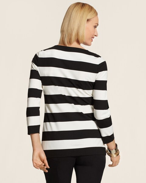 Contemporary Stripe Colleen Tee