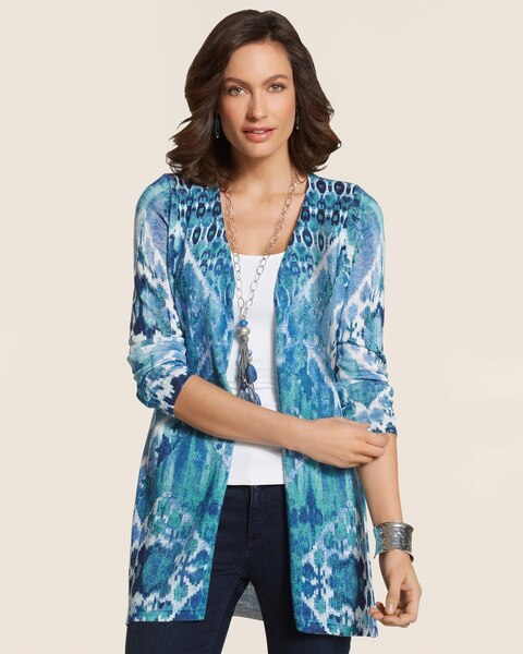 Native Ikat Joyce Cardigan
