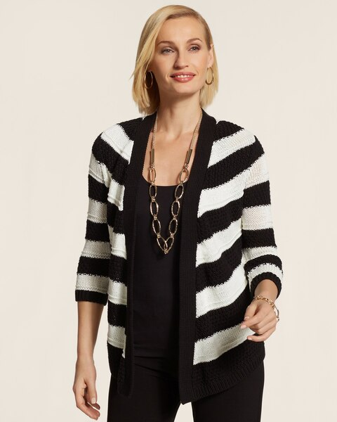 Striped Stitch Haley Cardgian