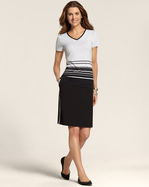 Neema Side Stripe Skort