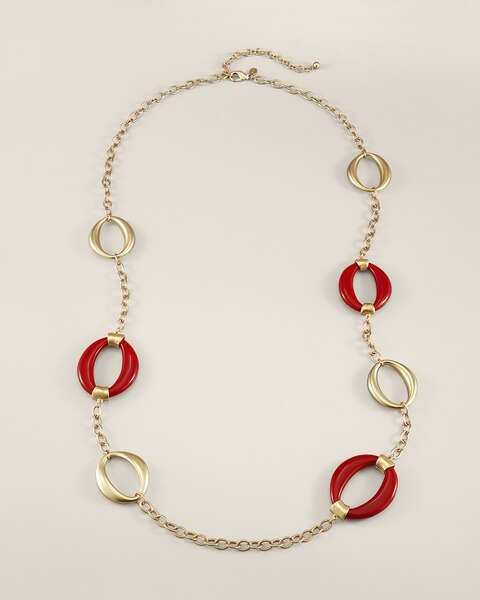Robin Red Necklace
