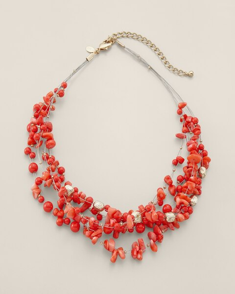 Amber Illusion Necklace