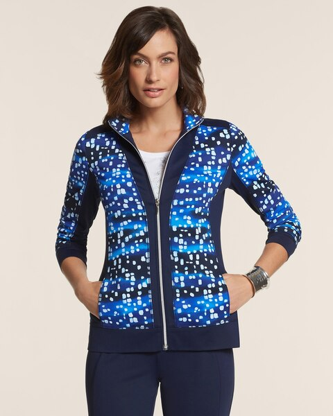 Chico Tech Printed Blocked Jacket