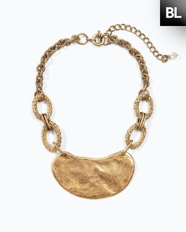 Black Label Hard Collar Necklace