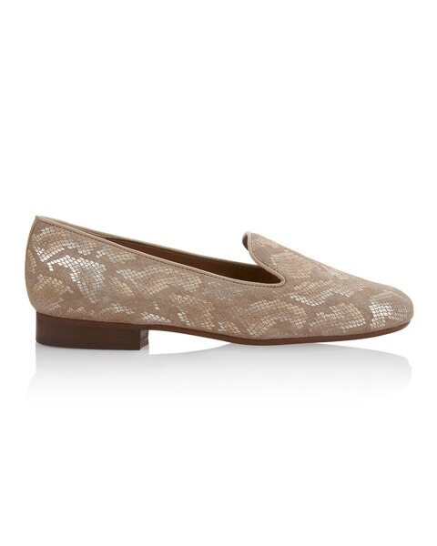Aleen Taupe Loafer