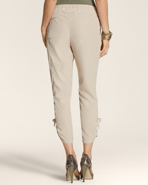 Cinched Soft Utility Pants