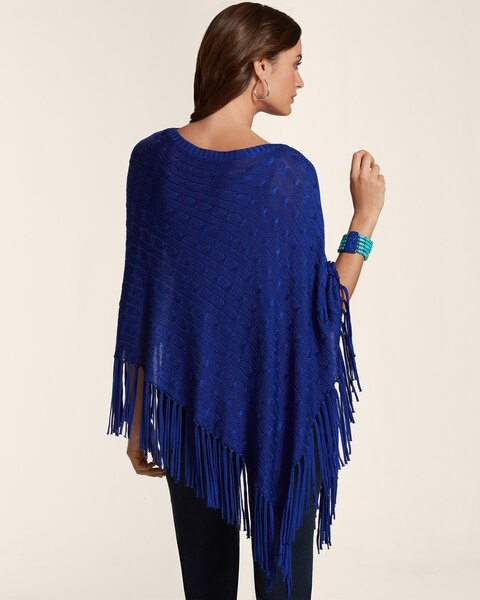 Colleen Asymmetrical Poncho