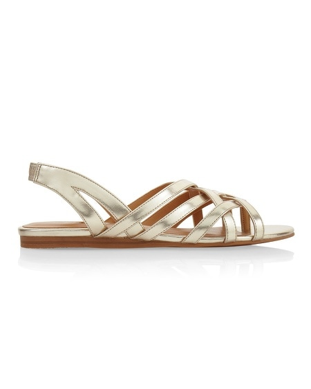 Cassandra Gold Sandals