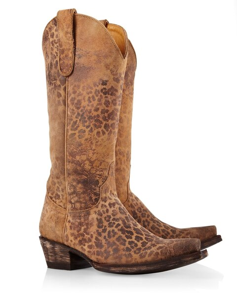 Old Gringo Leopardito 10 inch Cowboy Boots