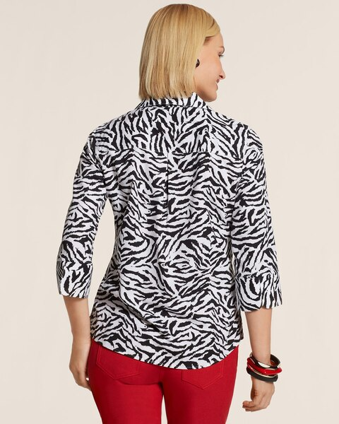 Effortless Zebra Safari Layne Shirt