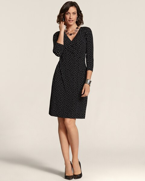 Dot Rosemary Wrap Dress