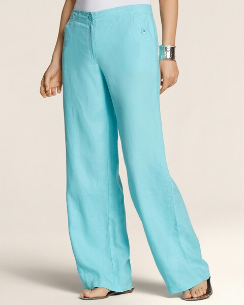 Linen Wide Leg Pants - Chicos