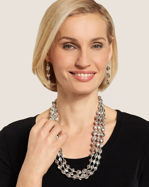 Tiera Short Multi-Strand Necklace