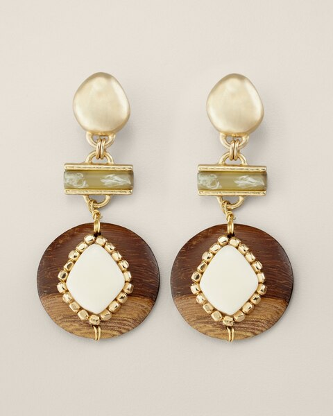 Tawny Clip Earrings