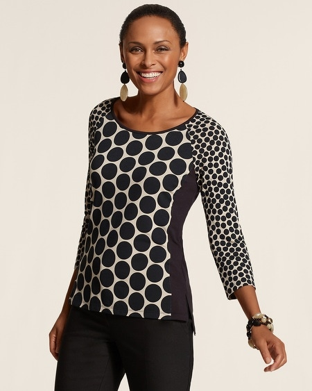 Contemporary Dots Marie Top