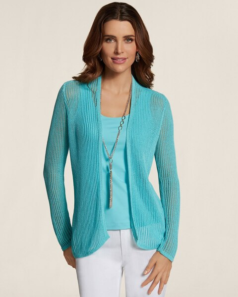 Striped Stitch Mckenna Cardigan