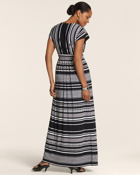 Varigated Stripe Vania Dress