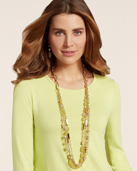 Fern Multi-Strand Necklace