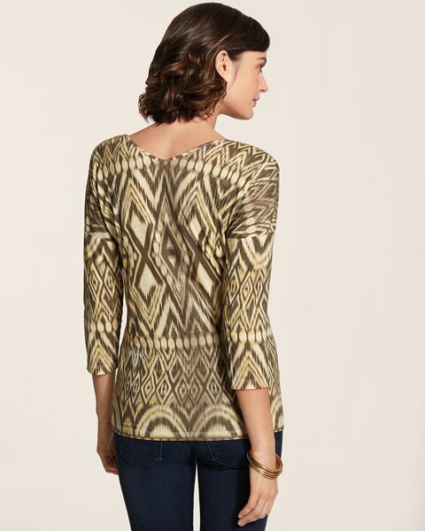 Tribal Dance Double V Aria Top