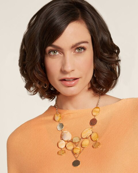 Bianka Bib Necklace