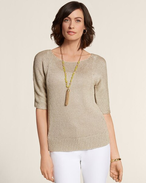 Texture Shine Roz Pullover