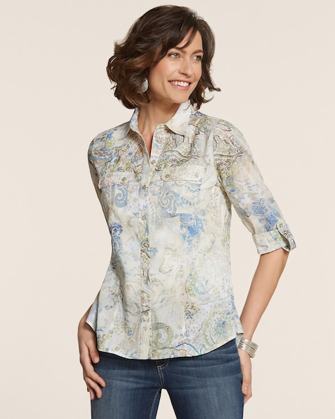 Cool Paisley Hannah Shirt