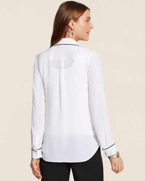 Piped Outlines Sophie Top