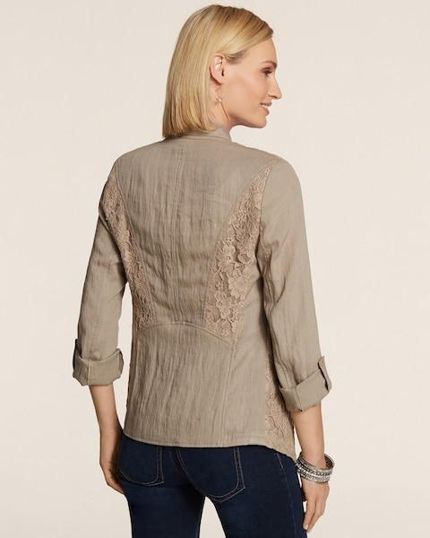 Francesca Lace Jacket