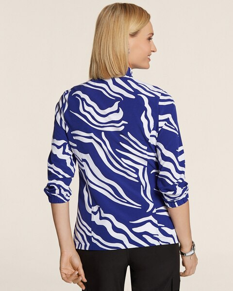 Neema Bi-Color Waves Jacket