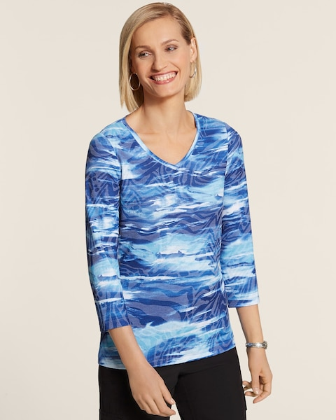 Waverly Print Top