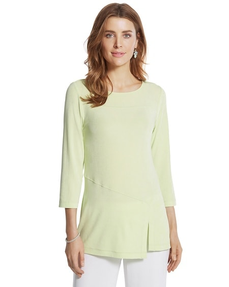Travelers Classic Split Asymmetrical Top