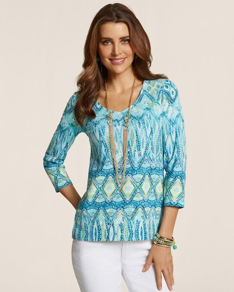 Tribal Remix Smooth Valentina Top