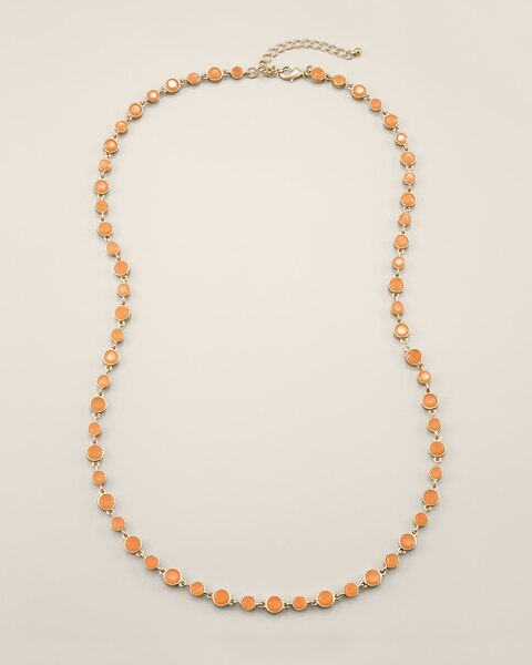 Linda Cantaloupe Necklace