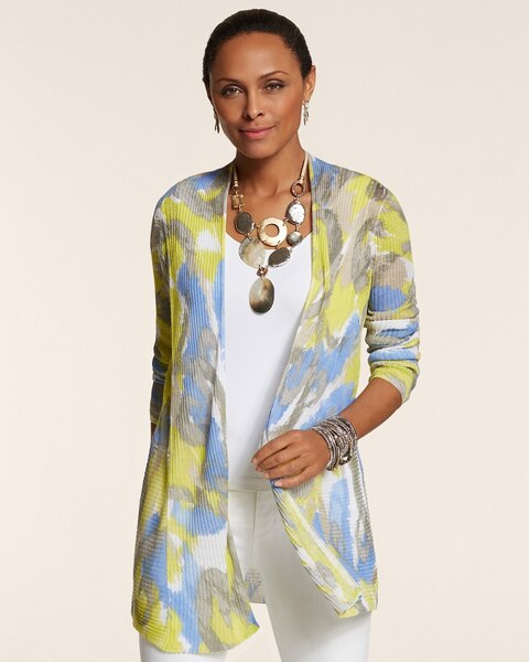 Abstract Swirls Maggie Cardigan
