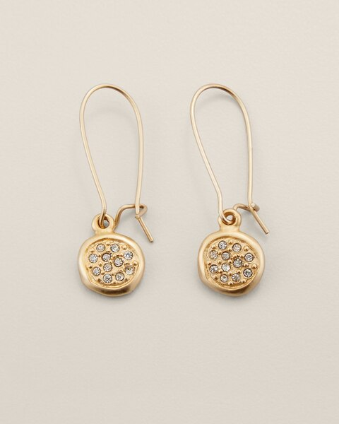 Grace Drop Pendant Earrings
