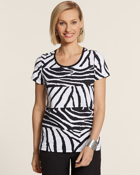 Animal Stripe Tee