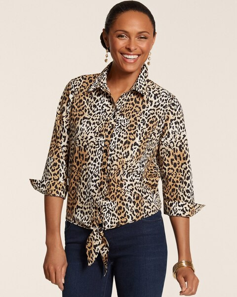 Effortless Leopard Luxe Tyree II Top