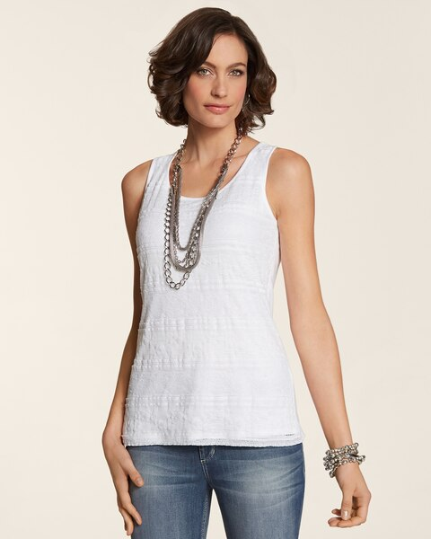 Tiered Lace Tank