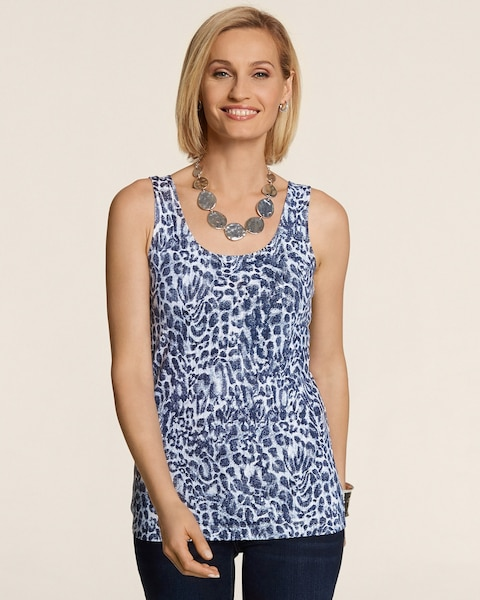 Denim Animal Contemporary Tank