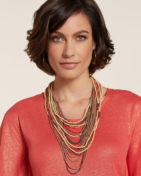 Bhavani Multi-Strand Necklace