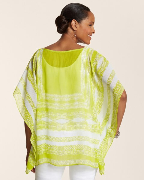 Diamond Block Poncho