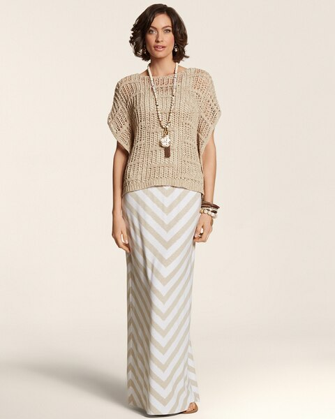 Colby Chevron Skirt