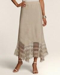Cara Crochet Inset Skirt