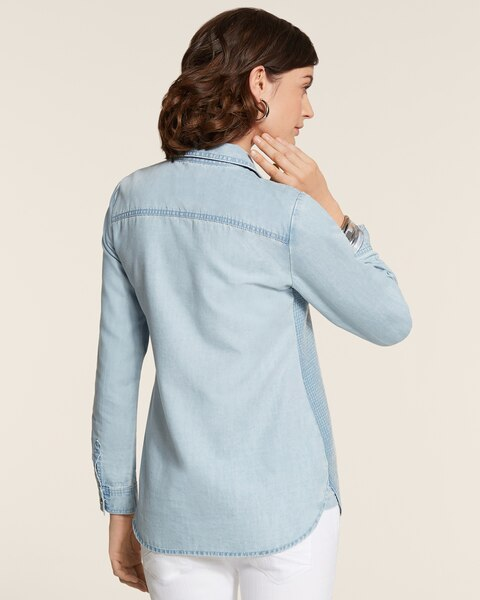 Sequin Denim Tabitha II Shirt